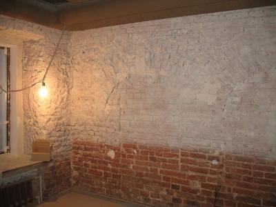 Стены под старину